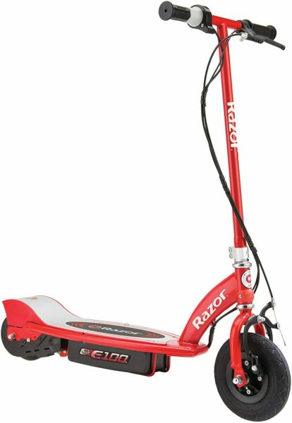 New Razor E100 Electric Scooter 100 Watts Red $35.76