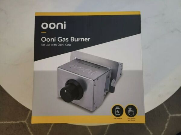 🔥SAME DAY SHIPPED 🔥 OONI GAS BURNER 3 NEW Stainless for Propane Tank🔥