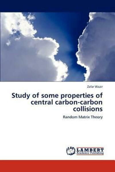 Study of Some Properties of Central Carbon Carbon Collisions: Random Matrix Theo $82.91