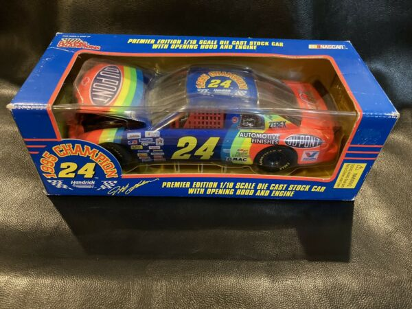 Nascar Racing Champions 1995 Jeff Gordon 1 18 Scale Die Cast. 24 DuPont Chevy