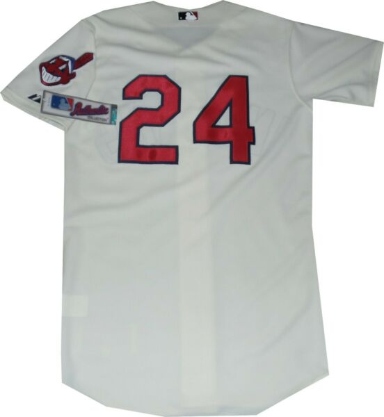 Cleveland Indians Grady Sizemore Throwback Authentic Jersey A6200 New with Tag