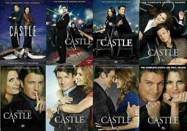 Castle Complete ALL Season 1 8 Series Collection TV Show Episodes *NEW* *Sealed* $52.99