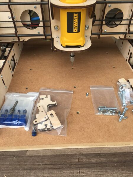 BobsCNC Evolution 3 CNC Router Kit with the Router Included E3 Used $700.00