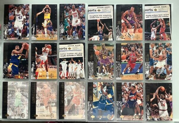 93 94 Lot of 116 SE Electric GOLD random cards great set building RARE 1:36 $449.00