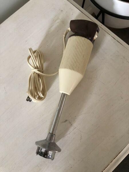 Bamix Immersion Blender Vintage M122 Handmixer Switzerland $48.00