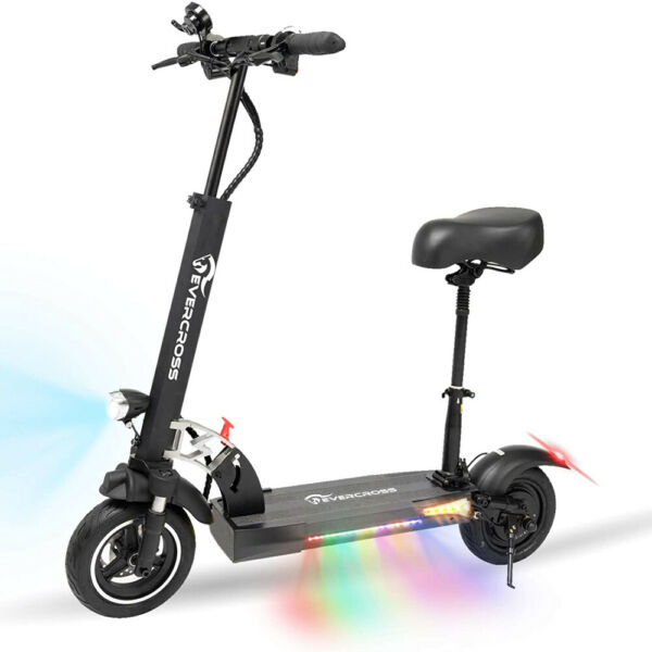 Electric Scooter 28MPH 10AH Folding E Scooter 800w Motor For Adults Black $599.00