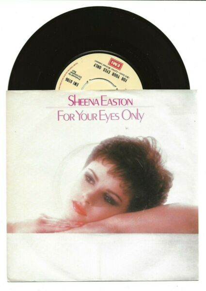 SHEENA EASTON FOR YOUR EYES ONLY RARE SINGLE FROM UK PICTURE COVER GBP 4.99