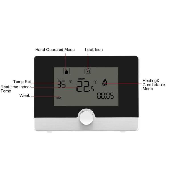 Programmable Thermostat Temperature Controller For Wall hung Boiler $33.70