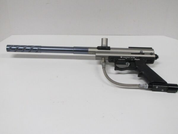 Spyder Semi Auto Cal 68 Paintball Gun Black PARTS AS IS UNTESTED