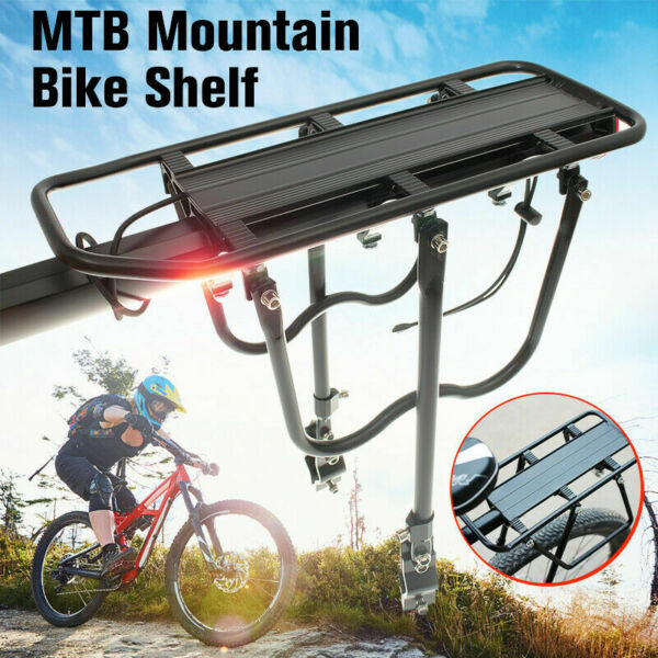 Aluminum Alloy Bike Rear Rack Seat Luggage Carrier Bicycle Post Pannier Cycling $10.61