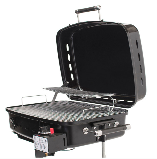 RV Mounted BBQ Motorhome Gas Grill BBQ Trailer Side Mount Barbeque Grill