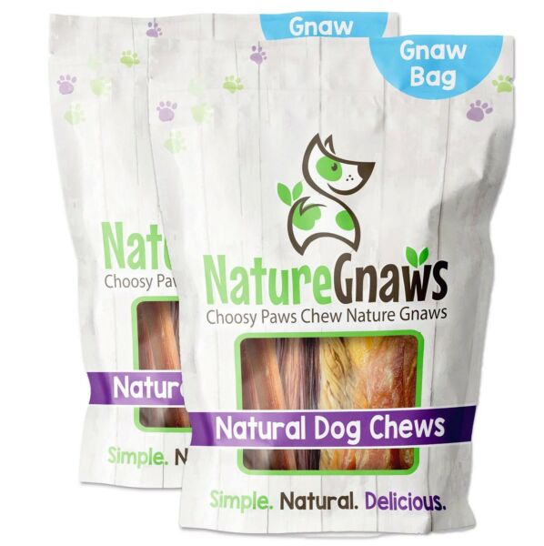 Nature Gnaws Combo Dog Chews 4 6quot; Length 12 ct. $29.99