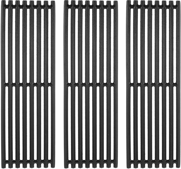 3 Pack Cast Iron Grill Grates for Char Broil Commercial Signature TRU Infrared