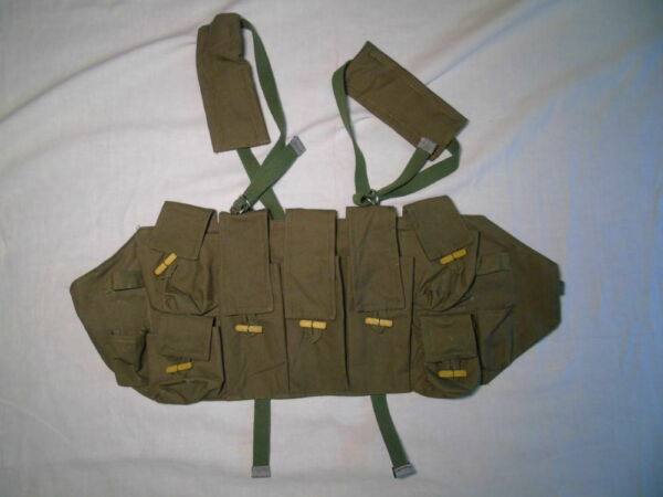 Soviet Russian Army Chest rig type A Afghanistan war