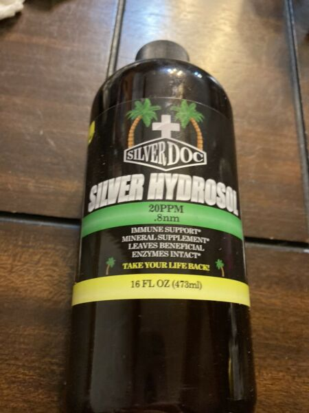 Silver Dog Silver Hydrosol 20PPM .8nm Immune Support Mineral Supplement 16oz $20.00