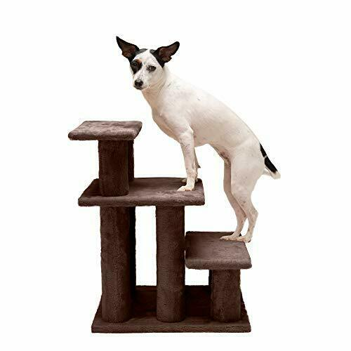 Furhaven Pet Steady Paws Furniture Assist Multi Step Dog Stairs for High Beds $36.50