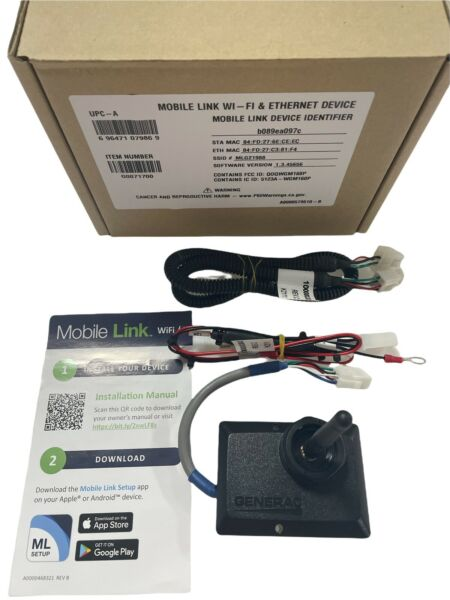 Generac 7170 Mobile Link WIFI ETHERNET Remote Monitoring System NEW** G0071700 $197.50