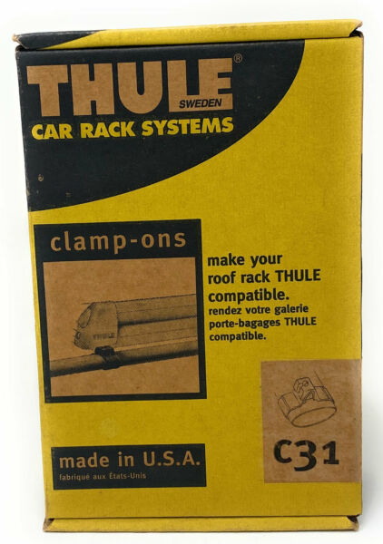 Thule Car Rack Systems Clamp ONs Kit C31 $10.95