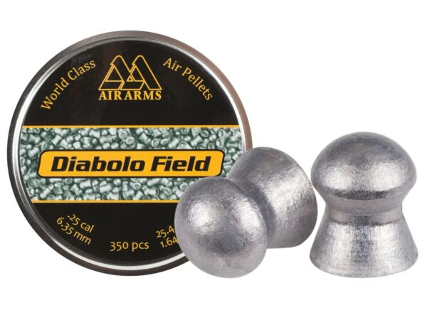 Air Arms Field .25 Cal 25.4 Grains Domed 350ct $18.99