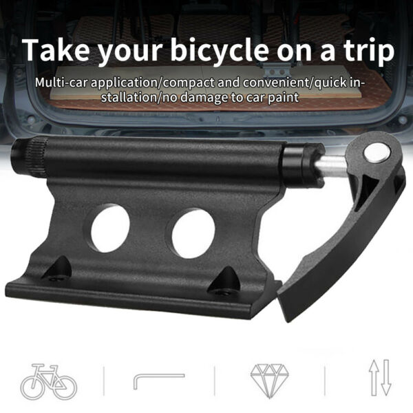 Stable Car Roof Bike Rack Bicycle Quick Release SUV Holder Cycle Front Fork Lock $20.89
