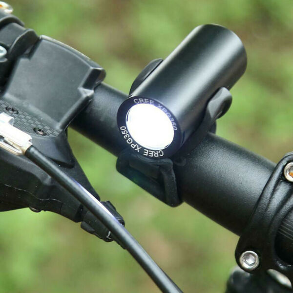 LED Bicycle Front Lamp Head Light Mountain Accessories Night Riding Bike Cycling $12.39