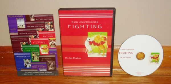 DOG AGGRESSION: FIGHTING Dr. Ian Dunbar DVD Lecture SUPERB Out of Print $14.99