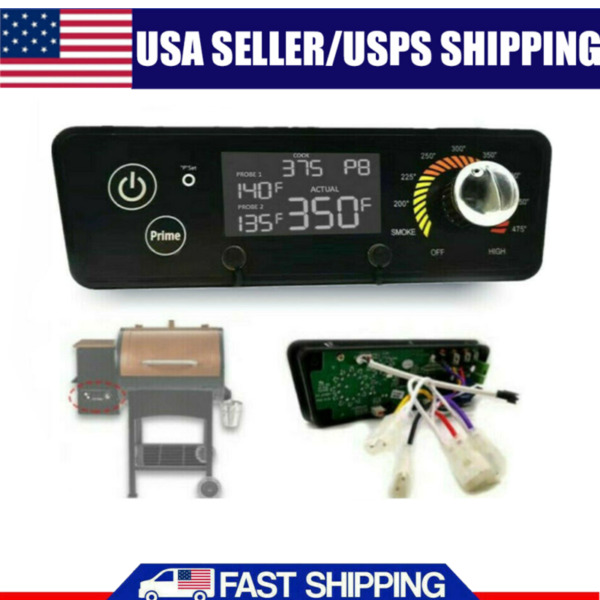 US BBQ Digital Thermostat Controller Board LCD Display For PIT Boss P9 Wood Oven $36.66