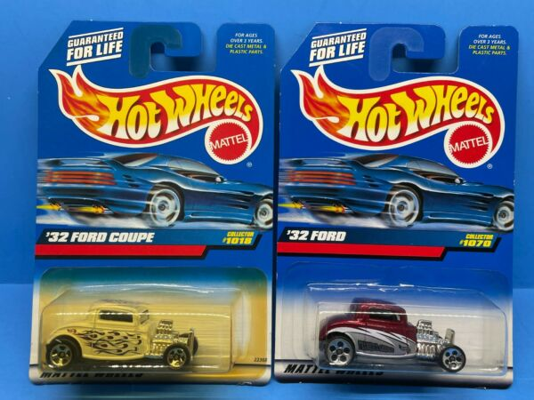 Hot Wheels 32 Ford Coupe Lot of 2 Cars