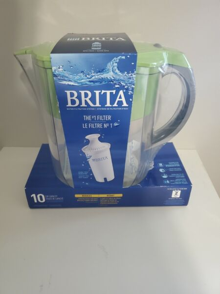 Brita 10 Cup Pitcher: 1 Pitcher With 1 Filter