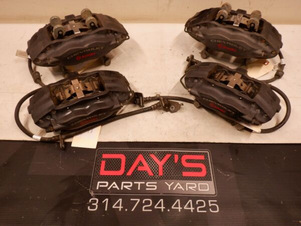 2011 Chevy Camaro SS Front and Rear Brembo Calipers OEM