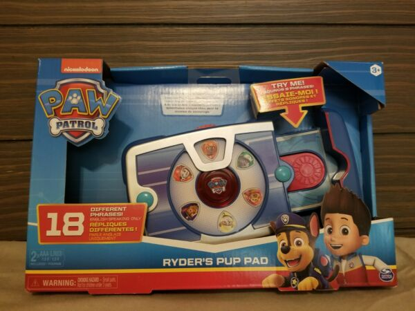 New Paw Patrol RYDER#x27;S Interactive Pup Pad