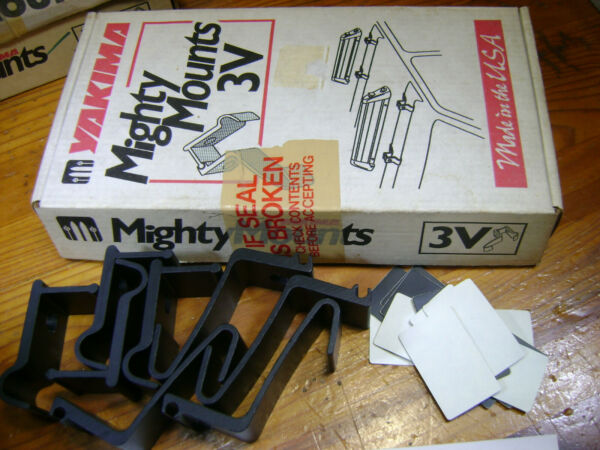 NOS set in the Box Yakima 3V Mighty Mounts with instructions $8.95