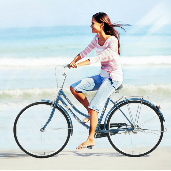 Chinese style 26#x27;#x27; Single Speed Bicycle Womens Comfort Bikes Bicycle Girls Gift $340.00