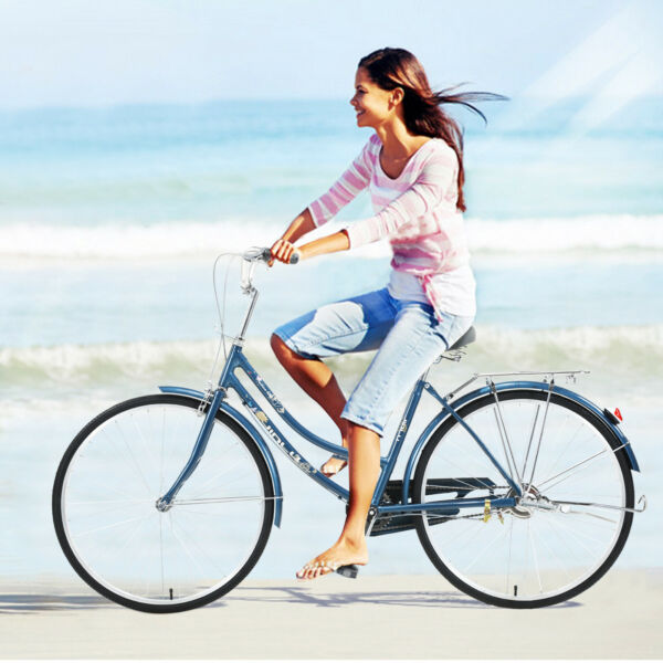 26#x27;#x27; 1 Speed Bicycle Womens Comfort Bikes Bicycle Girls Gift Chinese Freestyle $289.90