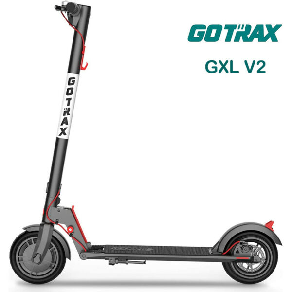 Gotrax GXL V2 Commuting Foldable Electric Scooter Adult 8.5quot; Tire 15.5MPH Range $299.98