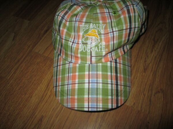Womens THE SALTY DOG plaid hat $1.99