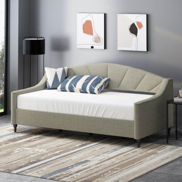 Jorryn Contemporary Tufted Upholstered Daybed $476.47