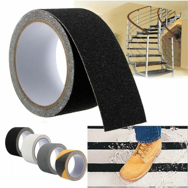 Non Slip Safety Grip Tape Anti Slip Stickers Strong Adhesive Tape Stairs Floor $7.96