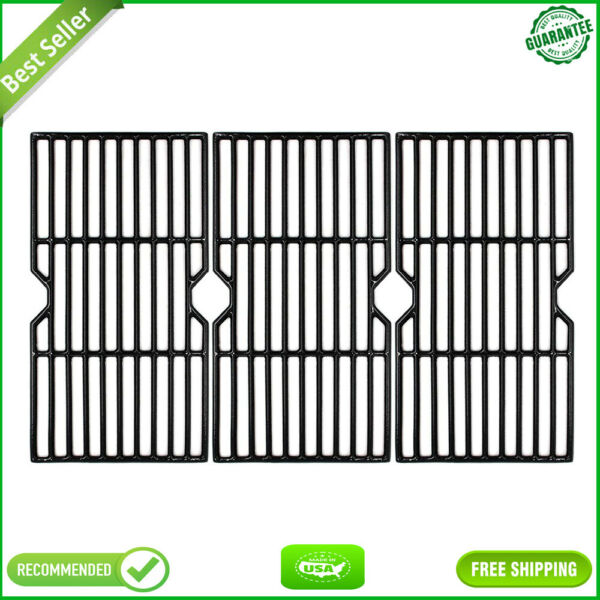 16 15 16quot; Porcelain Coated Cast Iron Grill Grates Cooking Grid Replacement NEW