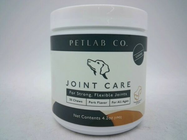 Petlab Co. Joint Care Flexible Joint Support Pork Chews 30 Count Exp: 4 23 $22.99