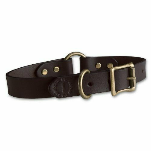 Filson Leather Dog Collar 14quot; Brown $30.00