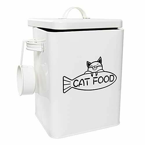Dog and Cat Food Storage Container Farmhouse Pet Food Storage Containers $41.10