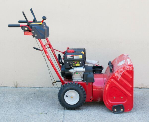 MA5 Troy Bilt Electric Start Self Propelled Gas Snow Blower Local Pick Up