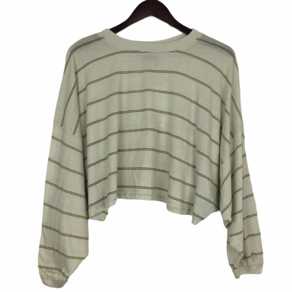 Out From Under for Urban Outfitters Cropped Long Sleeve Top Women#x27;s Size Small $19.98