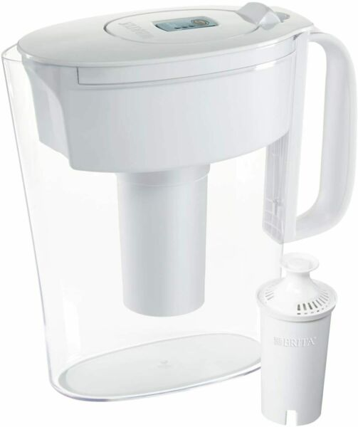 Brita Standard Metro Water Filter Pitcher Small 5 Cup 1 Count White NEW