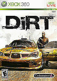 Dirt Xbox 360 by Codemasters $6.40