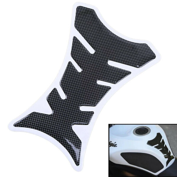 Carbon fibre effect motorcycle tank pad protector $2.00