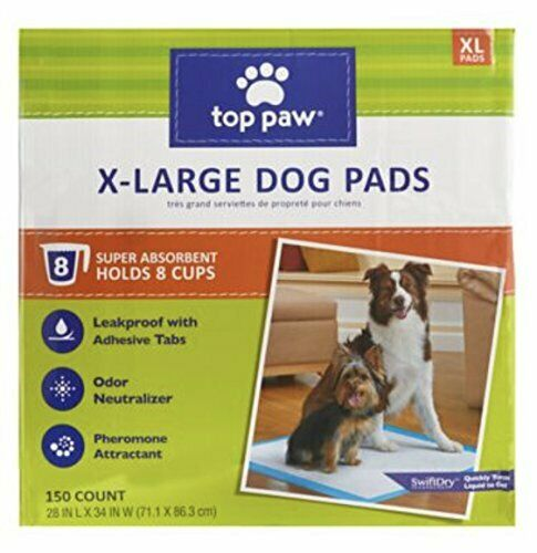 TOP PAW Dog XL Extra Large Pads for Puppy Training Indoor Dogs or Apartment $161.09