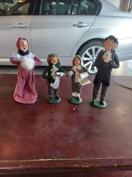 Byers Choice A Christmas Carol Carolers Scrooge amp; Others See Pics 1980s