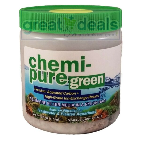 Boyd Chemi Pure Green 5.5 oz Carbon Resin Filter Media Freshwater Planted $9.29